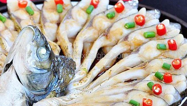 白豉油皇焗白鸽鱼