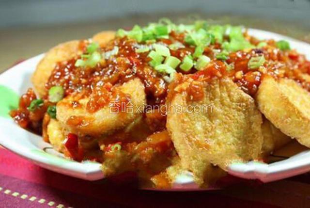辣子热豆腐