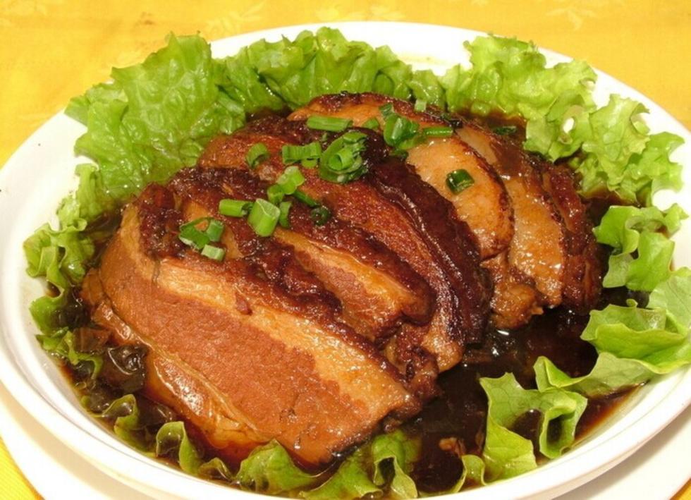 农家梅菜扣肉