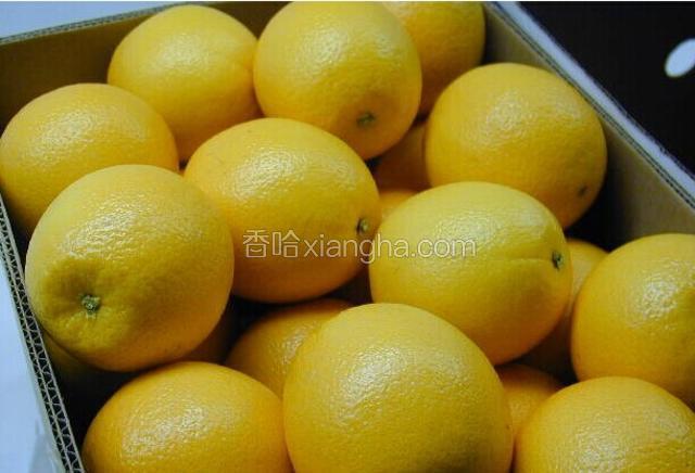 连南无核柠檬