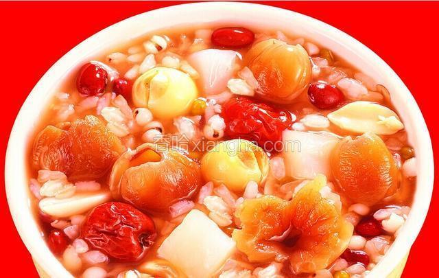莲子桂圆粥