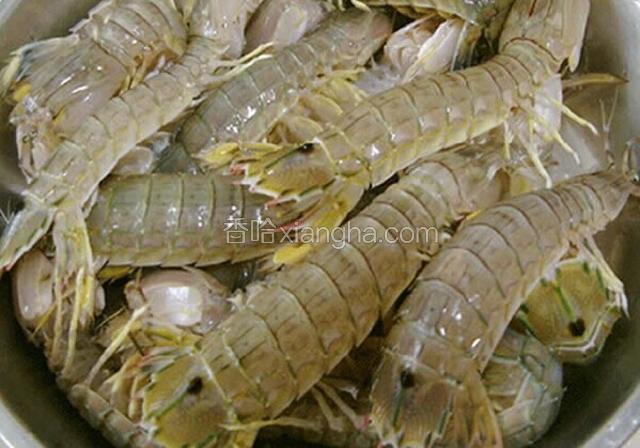 清汤琵琶虾