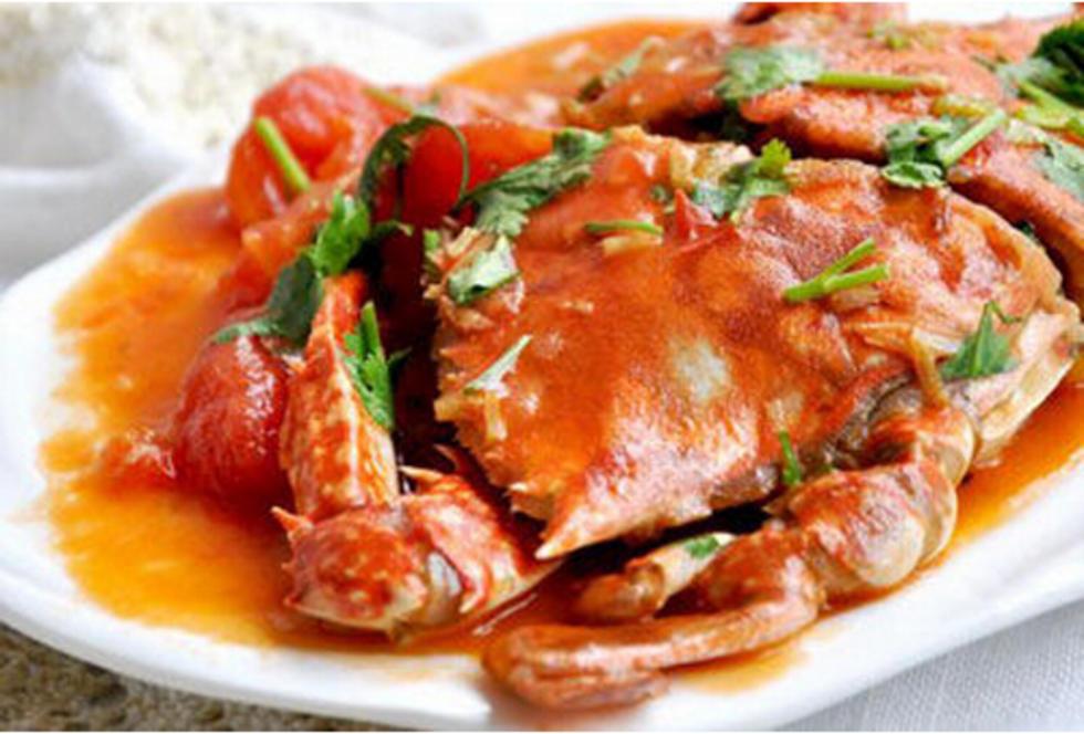 西红柿炒蟹