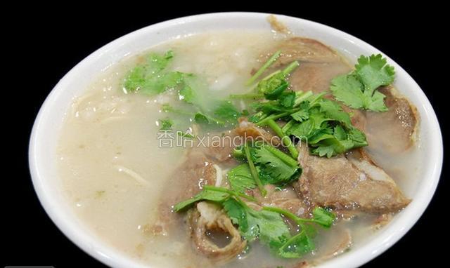 成武羊肉汤