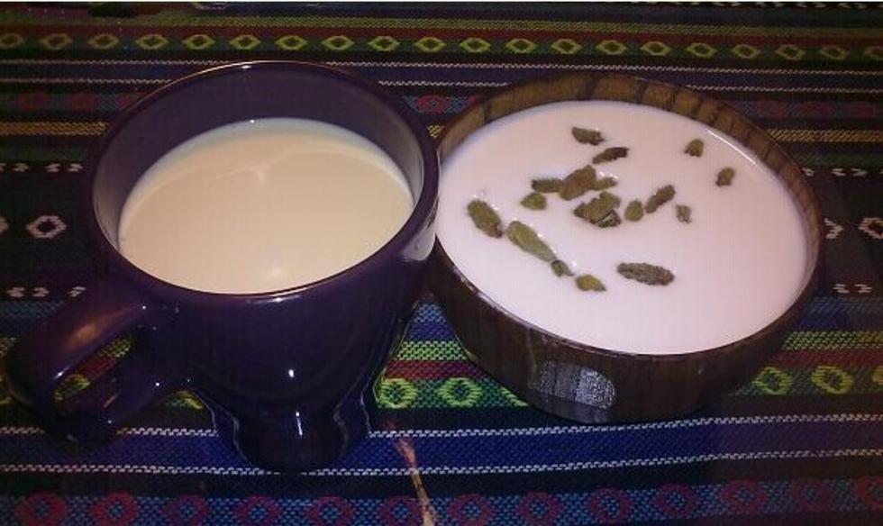 哈萨克族奶茶