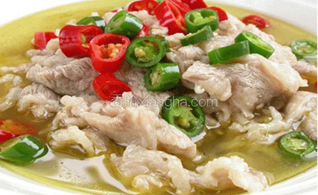 藏式酸菜汤