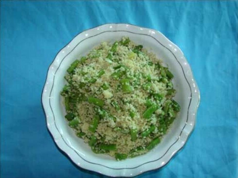 小米豆角饭
