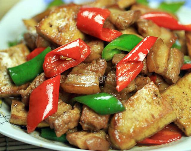杂炒布包豆腐